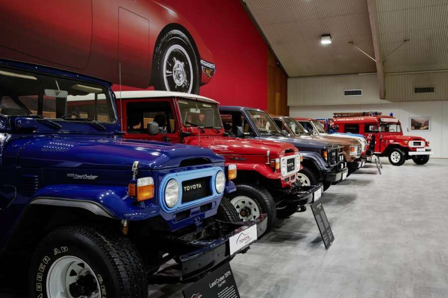 "Toyota nennt sein Museum ""Toyota Collection"". (Foto: Toyota)"