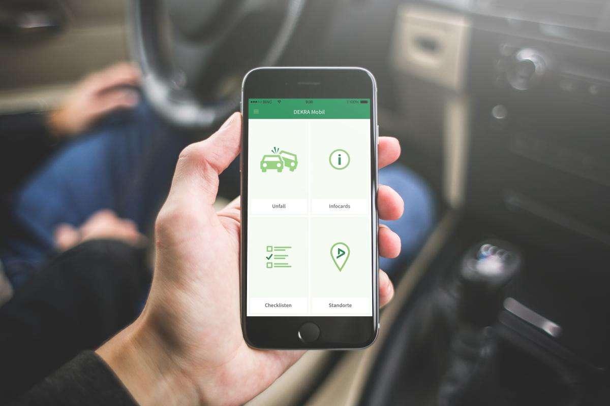 Dekra-App soll bei Unfällen helfen - Apps und Software (sonst ...